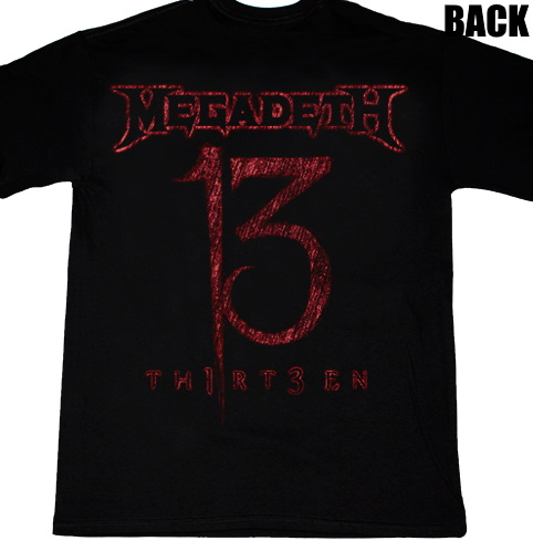 MegadethTHIRTEEN2011