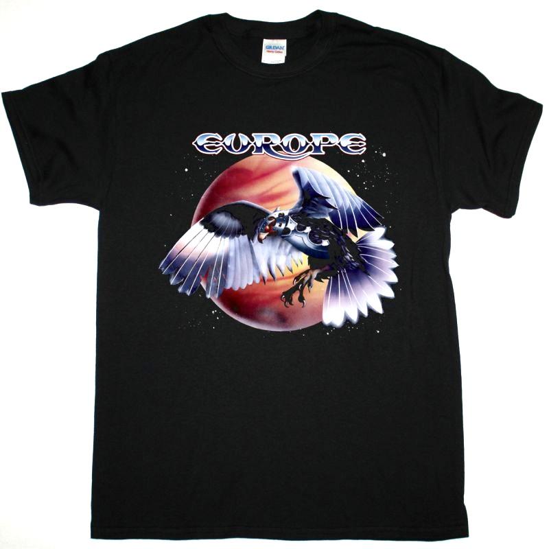 【EUROPE】ロックTシャツ メンズ バンドTシャツ メンズ EUROPE Wings Of Tomorrow 1984 ヨーロッパ オフィシャル バンドTシャツ S/M/L/XL/XXL