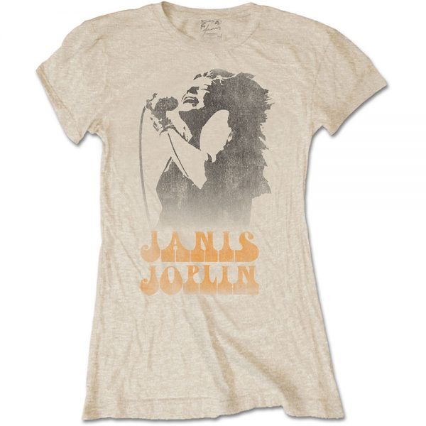 【Janis Joplin】ロックTシャツ レディース バンドTシャツ レディース Janis Joplin Live Shot 1969 ジャニス ジョップリン オフィシャル バンドTシャツ S/M/L/XL/XXL